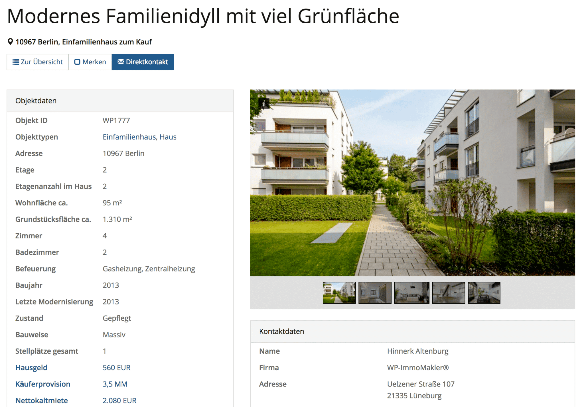 Funktionen - WP-ImmoMakler® - Ihre Immobilien in WordPress